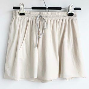 Lululemon sheer elastic waist shorts